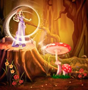 Fairytale-Scene
