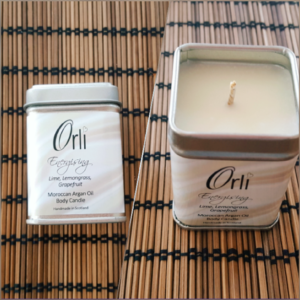 Anglická krása - masážní svíčka