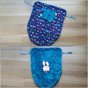 Cheeky blanket vzhled