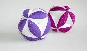 Montessori úchopový míček - barevný