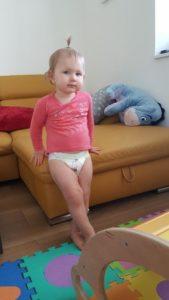 Muumi Baby modelka