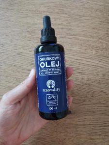 Renovality okurkový olej